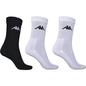 Accessoires Homme Chaussettes Kappa Lot de 3 paires de chaussettes de rugby  Chimido noir/blanc