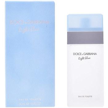 Beauté Femme Eau de toilette D&G Light Blue Pour Femme Edt Vaporisateur  50 ml