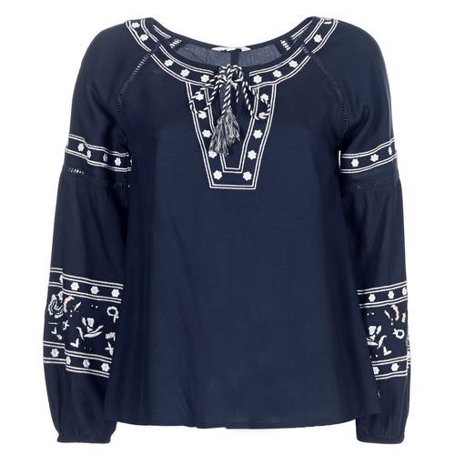 Vêtements Femme Tops / Blouses Deeluxe BERTHA Marine