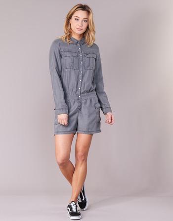 Deeluxe Vêtements CombinaisonsSalopettes Weavy Femme Gris rxhdBQsCot