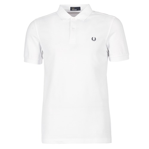 Fred Perry THE FRED PERRY SHIRT Blanc - Livraison