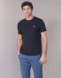 Vêtements Homme T-shirts manches courtes Fred Perry RINGER T-SHIRT Marine