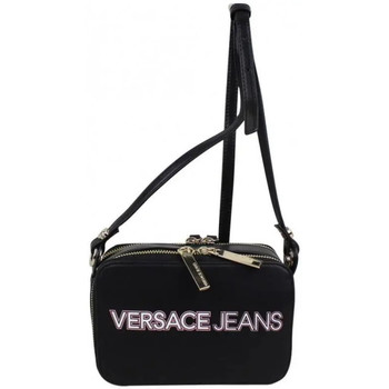 Sacs Femme Sacs Bandoulière Versace  Jeans Sac bandoulière Versace Jeans mat logo imprimé E1VPBBO5 Noir