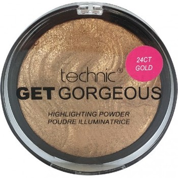 Beauté Femme Enlumineurs Technic - Poudre illuminatrice Get Gorgeous Gold - 8g Beige
