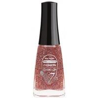 Beauté Femme Vernis à ongles Fashion Make Up Fashion Make-Up - Vernis à ongles Paillettes N°203 Rose ... Multicolore