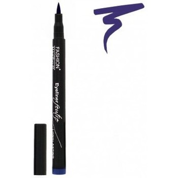 Beauté Femme Eyeliners Fashion Make Up Fashion Make-Up - Eyeliner Feutre Longue Tenue 03 Bleu Bleu