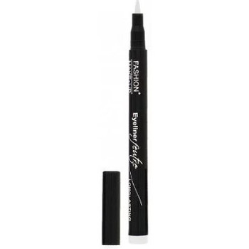 Beauté Femme Eyeliners Fashion Make Up Fashion Make Up - Eyeliner Feutre Longue Tenue 08 Blanc Blanc