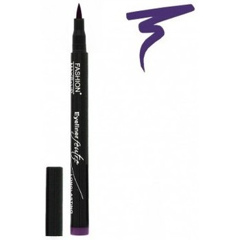 Beauté Femme Eyeliners Fashion Make Up Fashion Make-Up - Eyeliner Feutre Longue Tenue 04 Violet... Violet