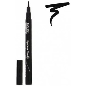 Beauté Femme Eyeliners Fashion Make Up Fashion Make-Up - Eyeliner Feutre Longue Tenue - Noir Noir