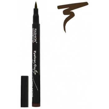 Beauté Femme Eyeliners Fashion Make Up Fashion Make-Up - Eyeliner Feutre Longue Tenue 02 Brun Marron