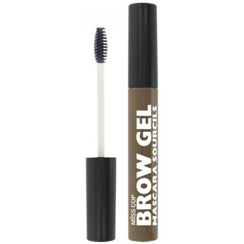 Beauté Femme Maquillage Sourcils Miss Cop - Mascara Gel Sourcils 03 Brun - 7.5ml Marron