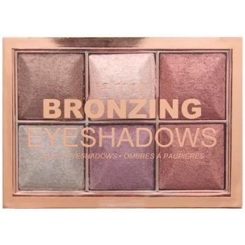 Beauté Femme Palettes maquillage yeux Technic - Bronzing Palette 6 fards à paupières - Bronze Beige