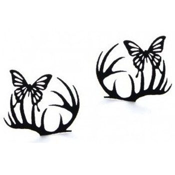 Beauté Femme Mascaras Faux-cils Paperself - Faux cils - Small Deer & Butterfly Noir
