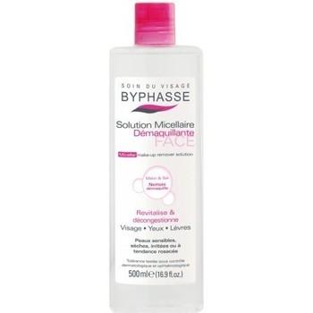 Beauté Femme Démaquillants & Nettoyants Byphasse - Solution micellaire démaquillante peaux sensibles, sèches, ir Autres