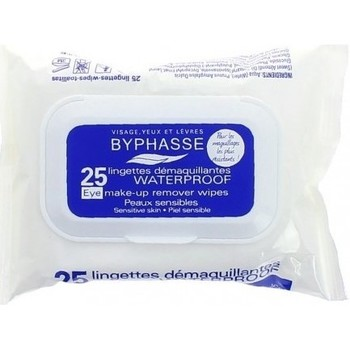 Beauté Femme Démaquillants & Nettoyants Byphasse - Lingettes démaquillantes Waterproof - Peaux sensibles x25 Autres