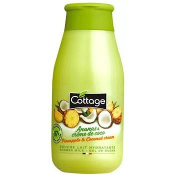 Beauté Produits bains Cottage - Douche Lait Energisante - Ananas & Crème de coco 250ml Autres