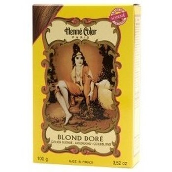 Beauté Femme Accessoires cheveux Henné Color Poudre Colorante Blond Doré   100g Jaune
