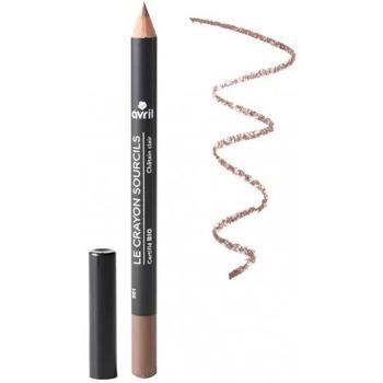 Beauté Femme Crayons yeux Avril Beauté Avril - Crayon sourcils Châtain clair - Certifié bio Autres