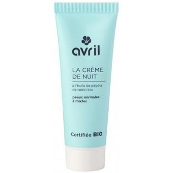 Beauté Femme Bio & naturel Avril Beauté Avril Beauté - Crème de nuit peaux normales et mixtes - 50 ml - Autres