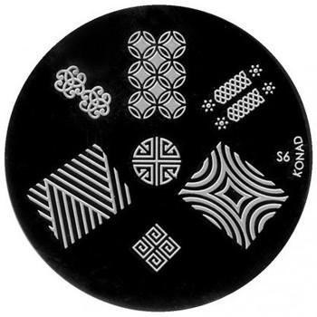Beauté Femme Accessoires ongles Konad - Plaques de stamping Nail Art S6 Autres