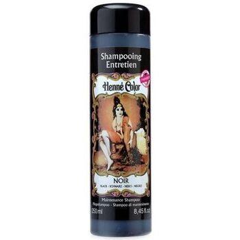Beauté Femme Shampooings Henné Color - Shampooing Entretien Couleur Noir - 250ml Noir