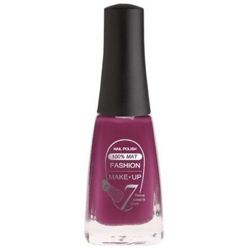 Beauté Femme Vernis à ongles Fashion Make Up Fashion Make Up - Vernis à ongles 100% mat n°07 Prune - 11ml Violet