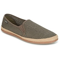 Chaussures Homme Espadrilles Bamba By Victoria COPETE ELASTICO REJILLA TRENZA Taupe