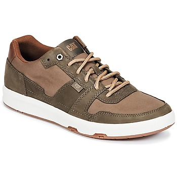 Chaussures Homme Baskets basses Caterpillar LINE UP CANVAS Marron