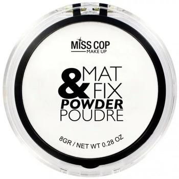 Beauté Femme Blush & poudres Miss Cop - Mat & Fix Poudre de fintion - 8gr Autres
