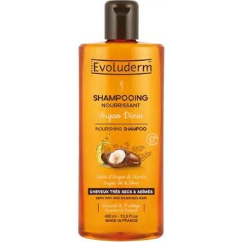 Beauté Femme Shampooings Evoluderm - Shampooing Nourrissant Argan Divin - 400ml Autres