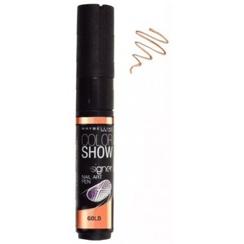 Beauté Femme Accessoires ongles Gemey Maybelline Maybelline - Color Show Stylo Nail Art Gold Jaune