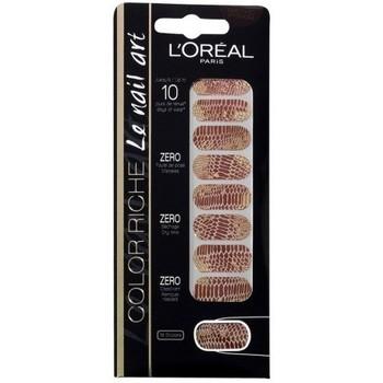 Beauté Femme Accessoires ongles L'oréal Color riche Le Nail Art   Stickers pour Ongles 006 C... Autres