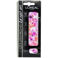 Beauté Femme Accessoires ongles L'oréal - Color riche Le Nail Art - Stickers pour Ongles 031 Tie Dye ro Autres