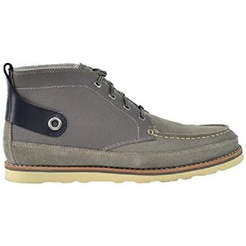 Chaussures Homme Baskets mode Timberland ABINGTON HALEY CHK Gris