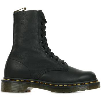 Chaussures Femme Boots Dr Martens 1490 Black Virginia noir