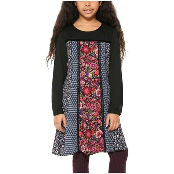 Vêtements Fille Robes courtes Desigual Robe Tripoli Noir 17WGVW08 Noir