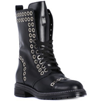 Chaussures Femme Low boots Albano TRONCHETTO VITELLO Nero