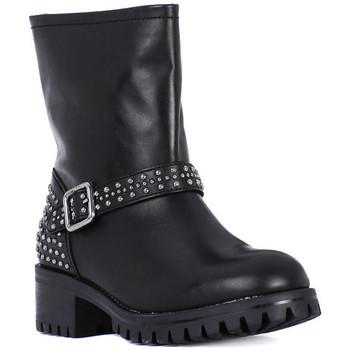 Chaussures Femme Bottes ville Frau TIBET NERO METAL Nero