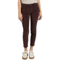 Vêtements Femme Pantalons 5 poches Volcom Pantalon  Super Stoned Ankle - Plum Rouge