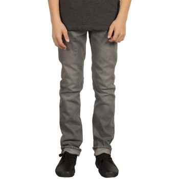 Vêtements Garçon Jeans droit Volcom Pantalon  2X4 By Denim - Power Grey Gris