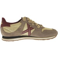 Chaussures Femme Baskets basses Munich Fashion Zapatilla  Massana 234 Gris/Oro Multicolore