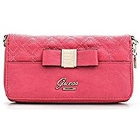 Sacs Femme Portefeuilles Guess Portefeuille Dolled Up SLG Passion Rose Rose