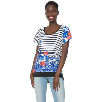 Vêtements Femme T-shirts manches courtes Desigual Tee-shirt  eloisa Algodon 61T25Q3 (sp) 1