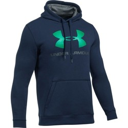Vêtements Homme Sweats Under Armour Rival Fitted Graphic Hoodie Bleu marine