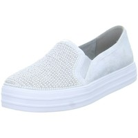 Chaussures Slips on Skechers Double Upshiny Dancer Argent