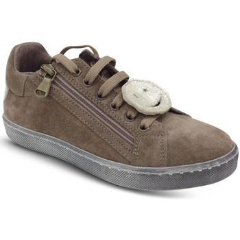 Chaussures Femme Baskets mode Reqin's Basket STARK SMILEY Taupe Beige
