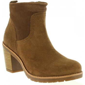 Chaussures Femme Bottines Panama Jack ARLES B37 Marrón