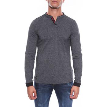 Vêtements Homme T-shirts manches longues Ritchie POLO PIXY Noir