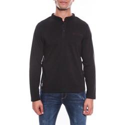 Vêtements Homme T-shirts manches longues Ritchie POLO POSTAL Noir