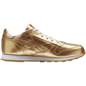 Chaussures Enfant Baskets basses Reebok Sport Classic Leather Metallic Brass Doré